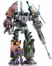 Transformers Warbotron WB01 Set of 6 Complete Combiner - Combaticons Bruticus