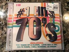 Number One Hits 70's New Sealed Cd! Helen Reddy The Miracles Al Wilson Exile