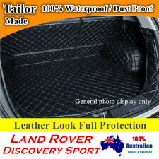 Car Boot Cargo Mats Cover Liner for Land Rover Discovery Sport 2015 - 2020 Black