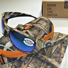 5a430733505 Costa Del Mar Fisch Polarized Sunglasses - Mossy Oak Camo Blue Mirror 580G  Glass