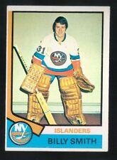 1973 - 1974 Topps Hockey Set BILLY SMITH Card #82