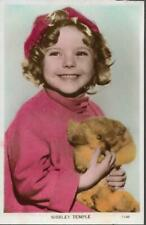 Actress (child) - Shirley Temple - Valentines RP postcard c.1930s