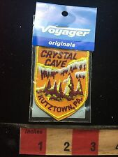 Vtg Voyager Original CRYSTAL CAVE KUTZTOWN Pennsylvania Patch 75VV