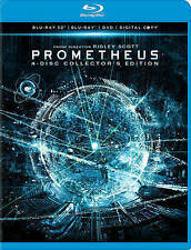 Prometheus (Blu-ray/DVD, 2012, 4-Disc Set, Collectors Edition 3D)