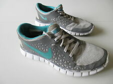 Women's NIKE 'Free Run+' Sz 7.5 US Runners Grey Teal ExCon | 3+ Extra 10% Off