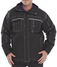 Mens Click Ledbury Premium Quality Hooded Work Wear Jacket