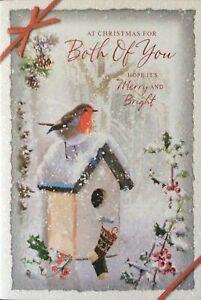 BOTH OF YOU CHRISTMAS CARD