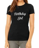 BC Women Birthday Girl T Shirt Happy Bday Gift Present T-shirt Tee Slim Fit