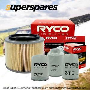 Ryco 4WD Air Oil Fuel Filter Service Kit for Nissan Patrol GU Series 1 TD42T