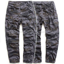 G-STAR RAW CARGO PANTS MILITARY DK HERON FRESH CAMO EXTRA LOOSE TAPERED  W33 L38