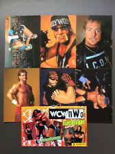 WCW NWO Wrestling Superstars 6 Photocards Hulk Hogan Macho Man Roddy Piper RARE