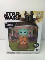 STAR WARS Mandalorian The Child/Baby Yoda Grogu Inflatable Yard Prop MIB