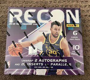 2020 21 Panini Recon Basketball HOBBY Box FACTORY SEALED 2 Autos 10 Packs