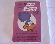 Vintage Warner Bros The Road Runner Card Game 1976 Western Publishing Sealed!