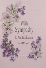 Sympathy Card  with White Envelope