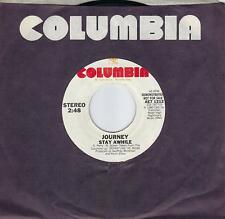 JOURNEY  Stay Awhile / Good Morning Girl  promo 45