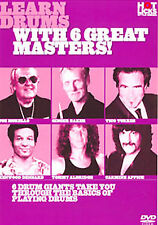 NEW - Learn Drums with 6 Great Masters