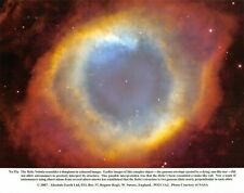 NASA Photographic Card Print of the Helix Nebula by Absolute Earth Ltd (2007)