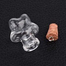 Glass Vials Mini Bottles Mixed Shapes (A1)