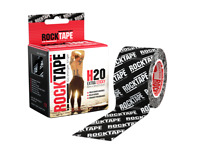 Rocktape H2O Extra Sticky Waterproof Athletic Tape Kinesiology Roll 5M - Logo