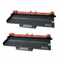 2PK HighYield TN750 Toner Cartridge For Brother TN720 DCP-8150 HL-5450 MFC-8710