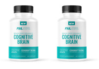 Cognitive Brain For Active Adults Vitamin B12 Folic Acid 60 Capsules PACK OF 2