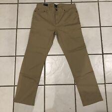 G H Bass & Co Straight Leg Pants MEN'S  36W X 34L  Khaki Nwts $70