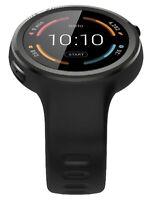 Motorola Moto 360 Sport 45mm Smartwatch - Silicone - Black 00906NARTL