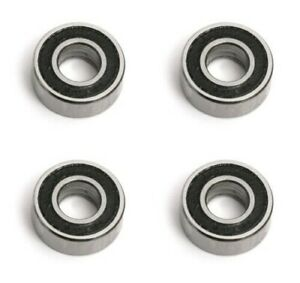 4 X Rc Car Bearings Rubber Sealed 5x11x4 1150 Size Fits Tamiya Traxxas kyosho
