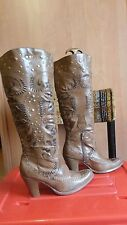bottes marrons country pointure 41  occasion  marque SEITE 1 GIRL