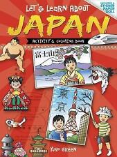 Let's Learn About JAPAN: Activity and Coloring Book (Dover Children's Activity B