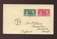 Newfoundland and Labrador Cover Canadian Stamps