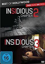 Insidious: Chapter 2 / Insidious: Chapter 3 NEU OVP 2 DVDs Teil 2+3