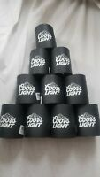 Coors Light koozie Lot of 10 coozie can cooler bar beer party cave keg lager new