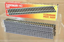 FLEISCHMANN 6101 PROFI GLEIS STRAIGHT TRACK 200mm LONG BOXED nn
