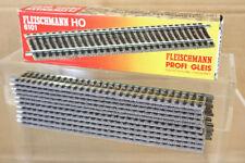 Fleischmann 6101 PROFI GLEIS DROIT RAIL 200mm de long emballé NN