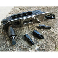 Multi-tool EDC Tools Set Adjustable Wrench Jaw Screwdriver Pliers Survival Gear