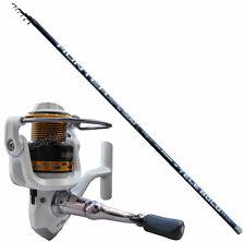 KP2432 Canna Pesca Bolognese 5 mt carbon Mulinello Globe Fishing 2000     CASG