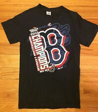 Boston RedSox 2013 American League Champions Clubhouse Locker Room T-Shirt Men S