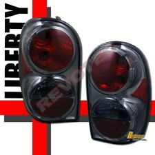 02 03 04 05 06 07 Jeep Liberty Smoke Tail Lights Lamps 1 Pair