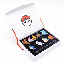 Pokemon Go Pocket Monster Eevee Sylveon Flareon Badge Pins Brooth 9pcs New +Box