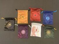 Scythe Board Game 7 Promo Drawstring Microfiber Bags Set - BRAND NEW
