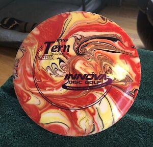 New Innova PRO TERN Custom Dyed Red Yellow Swirl 174 grams Purple Stamp