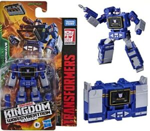 Transformers War For Cybertron Kingdom Core Class SOUNDWAVE IN STOCK!!