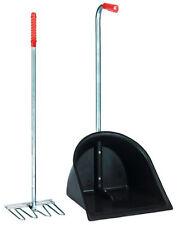 Mistboy schwarz mit Schaufel Stallbutler Mistkratzer Bollensammler 3281