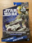 Star Wars Transformers Clone Gunner To Republic Fighter Tank For Sale