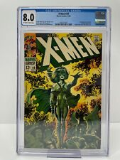 Uncanny X-Men #50 1968 CGC 8.0 OFF-WHITE to WHITE Pages 2092377003