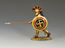 AG034 Hoplite Charging w/Spear by King and Country