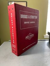Vintage Briggs Amp Stratton Dealer Service Parts Price Repair Manual 1974 1970s