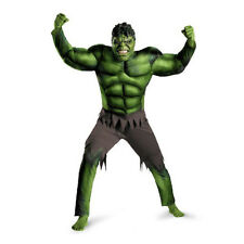 Adult Mens The Avengers Hulk Cosplay Costume Muscle Costume Men Below 180cm Fits